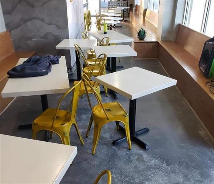 Cleaning Services in Local Restaurant Before