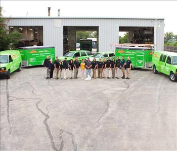 SERVPRO of Kendall County Crew
