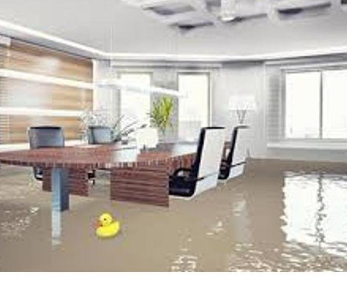commercial water damage tips