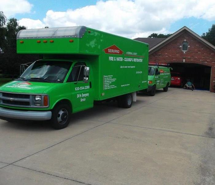 Storm Damage SERVPRO of Kendall County is Ready for When Storms Hit